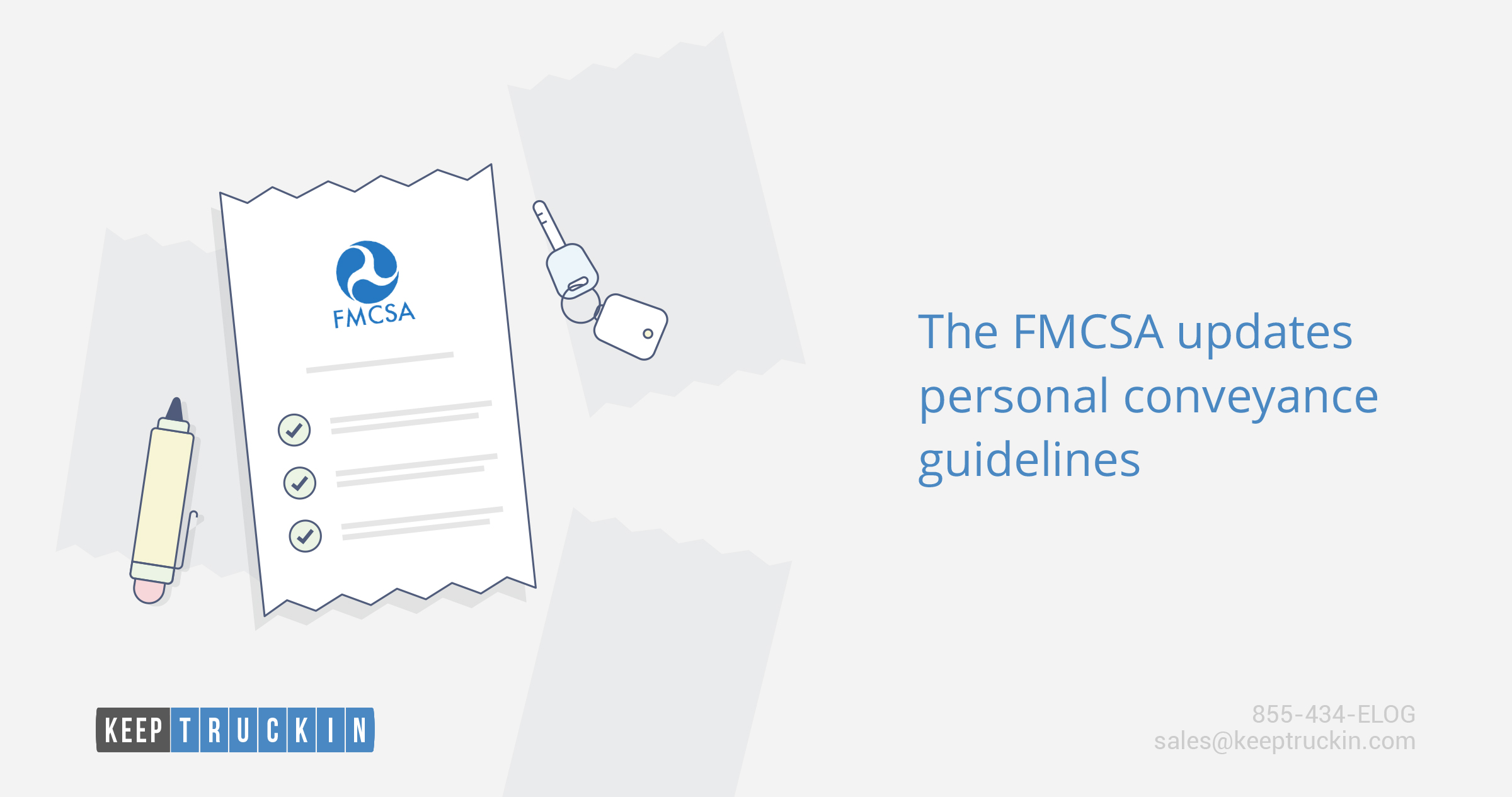 The FMCSA updates personal conveyance guidelines