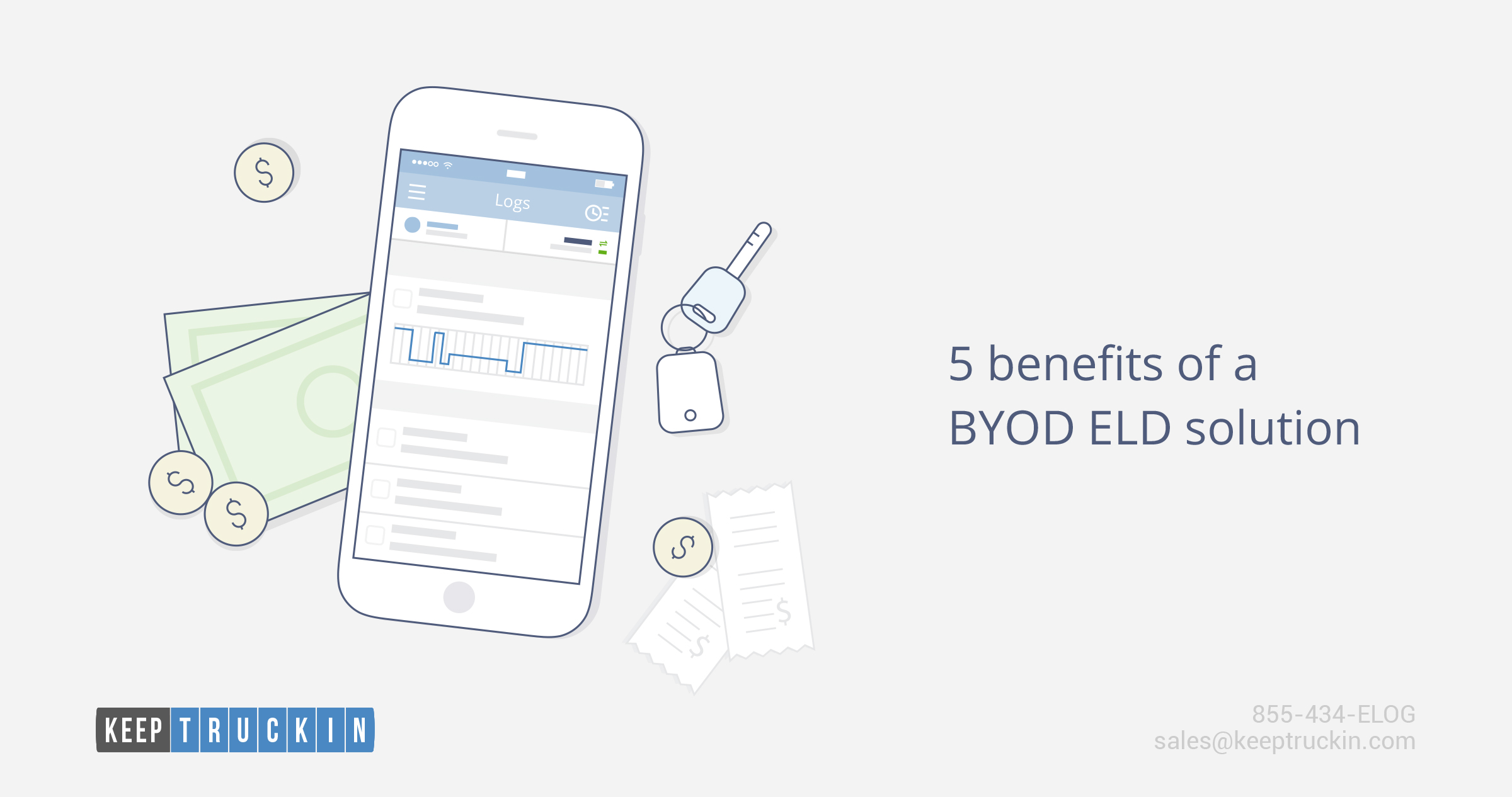 5 benefits of a BYOD ELD solution