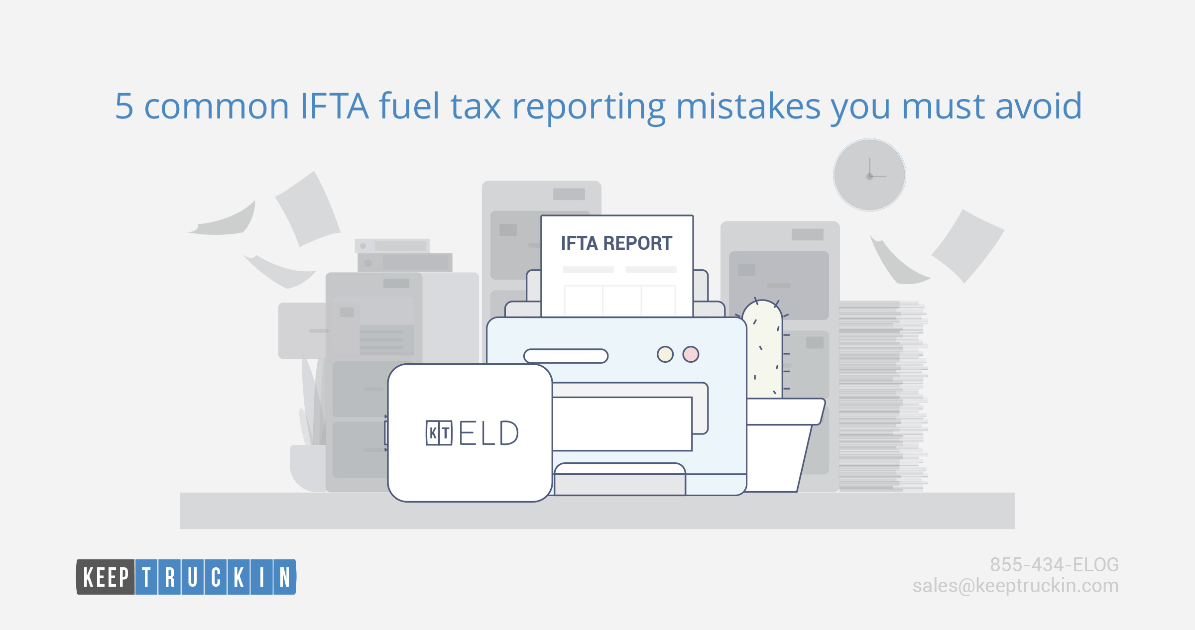 5 common IFTA fuel tax reporting mistakes you must avoid