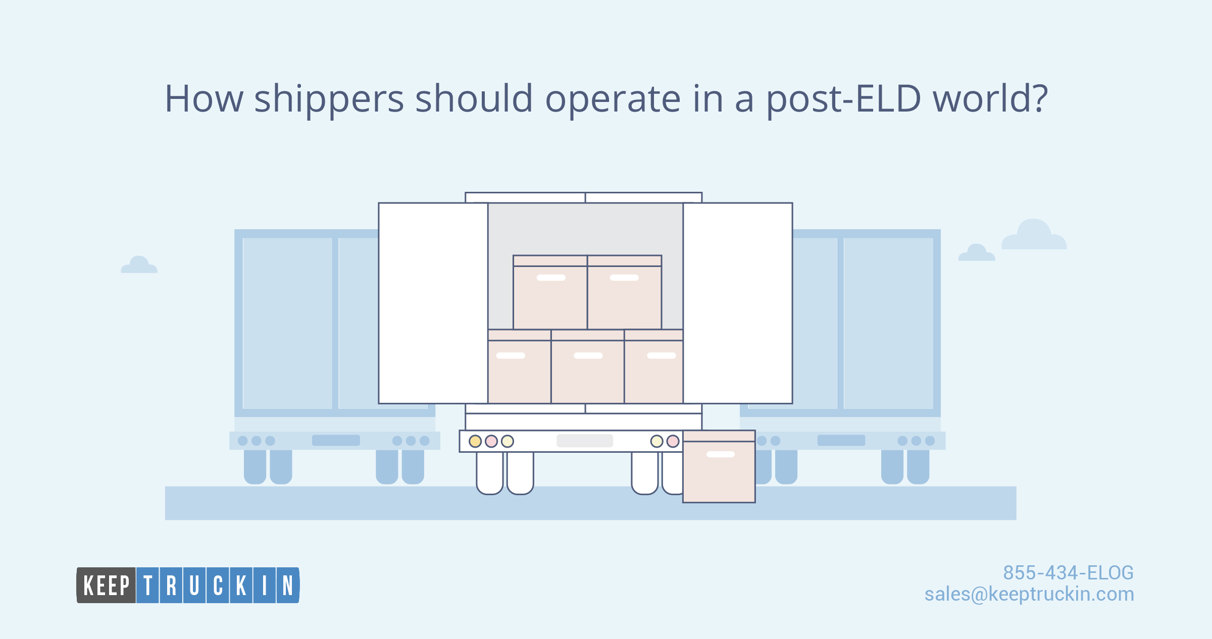 How shippers should operate in the post-ELD world