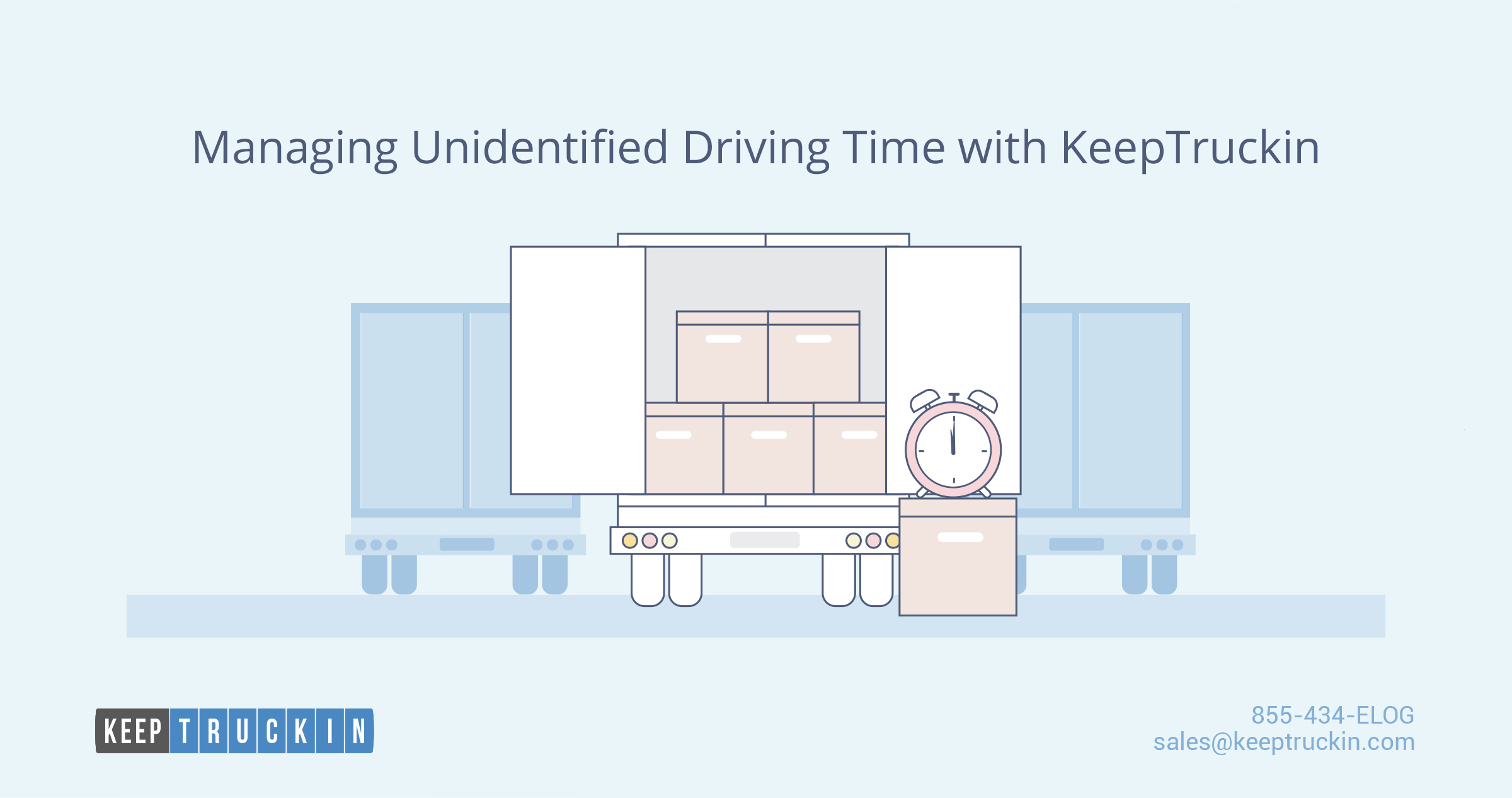 Managing Unidentified Driving Time with KeepTruckin