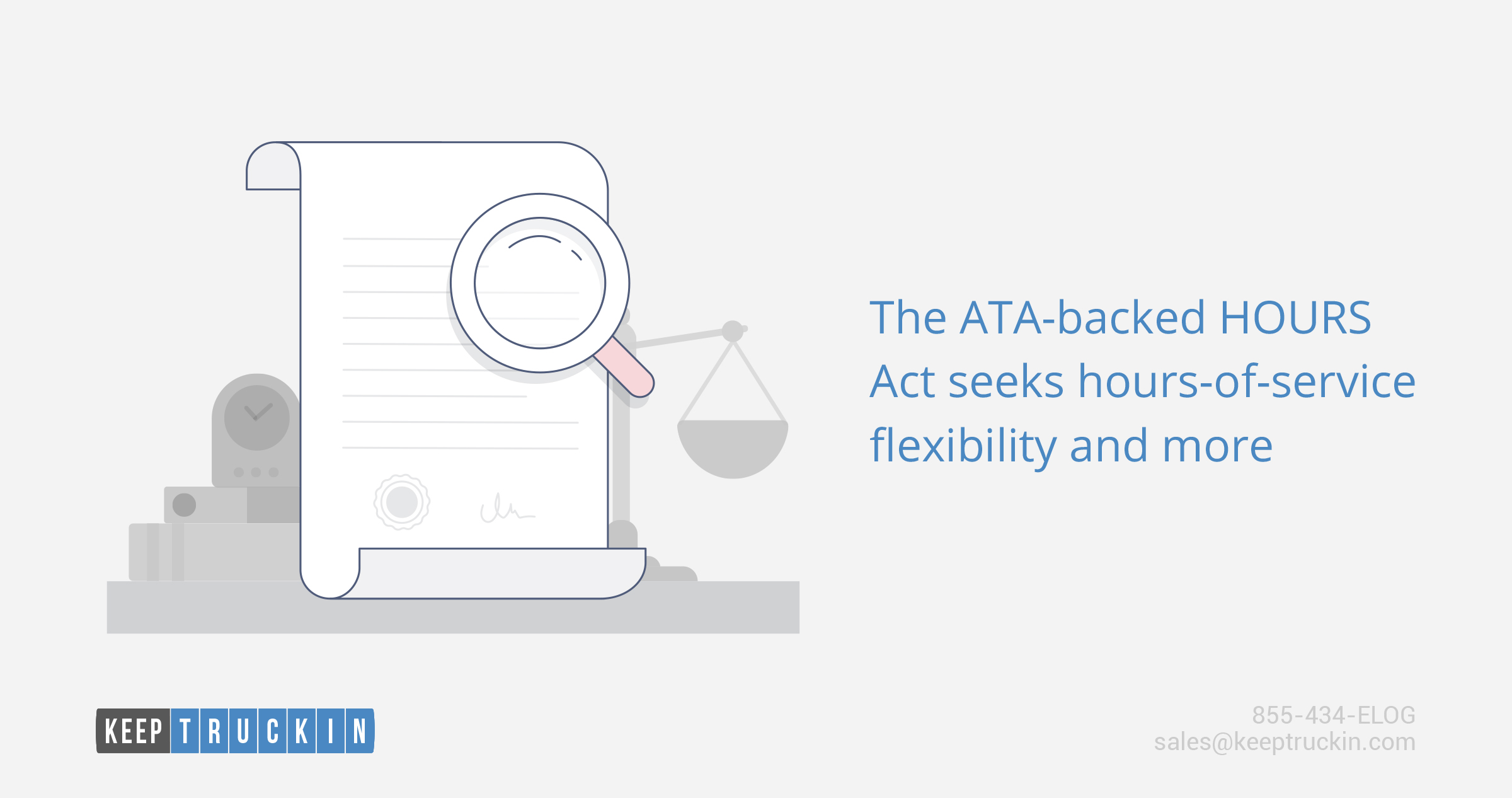 The ATA-backed HOURS Act seeks hours-of-service flexibility and more