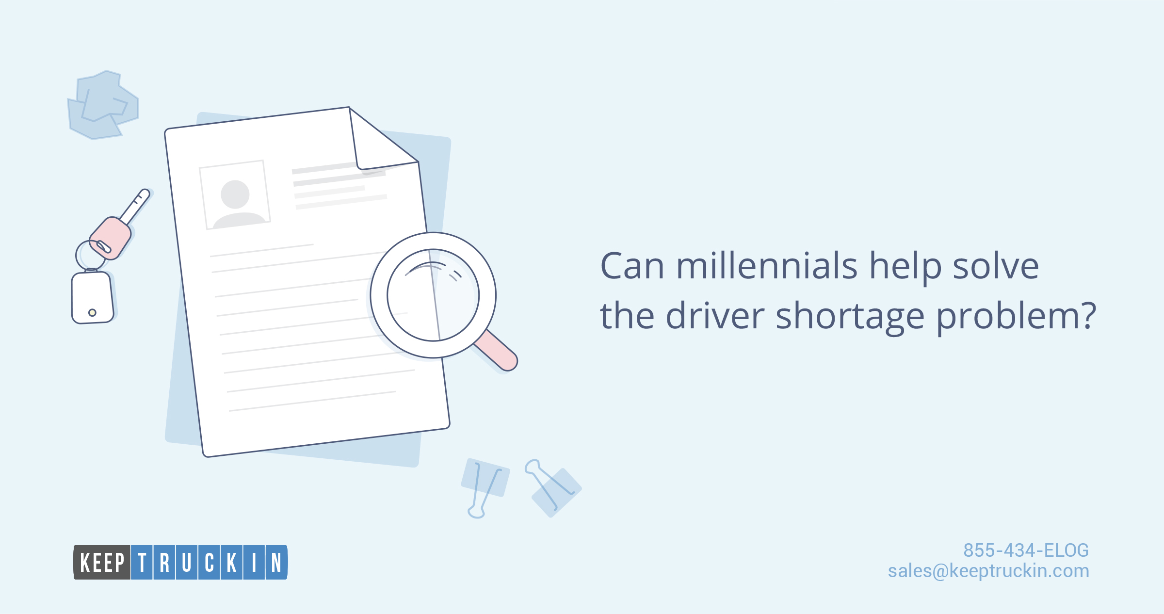Can millennials help solve the driver shortage problem?