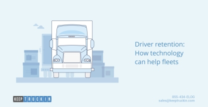 Driver retention: How technology can help fleets