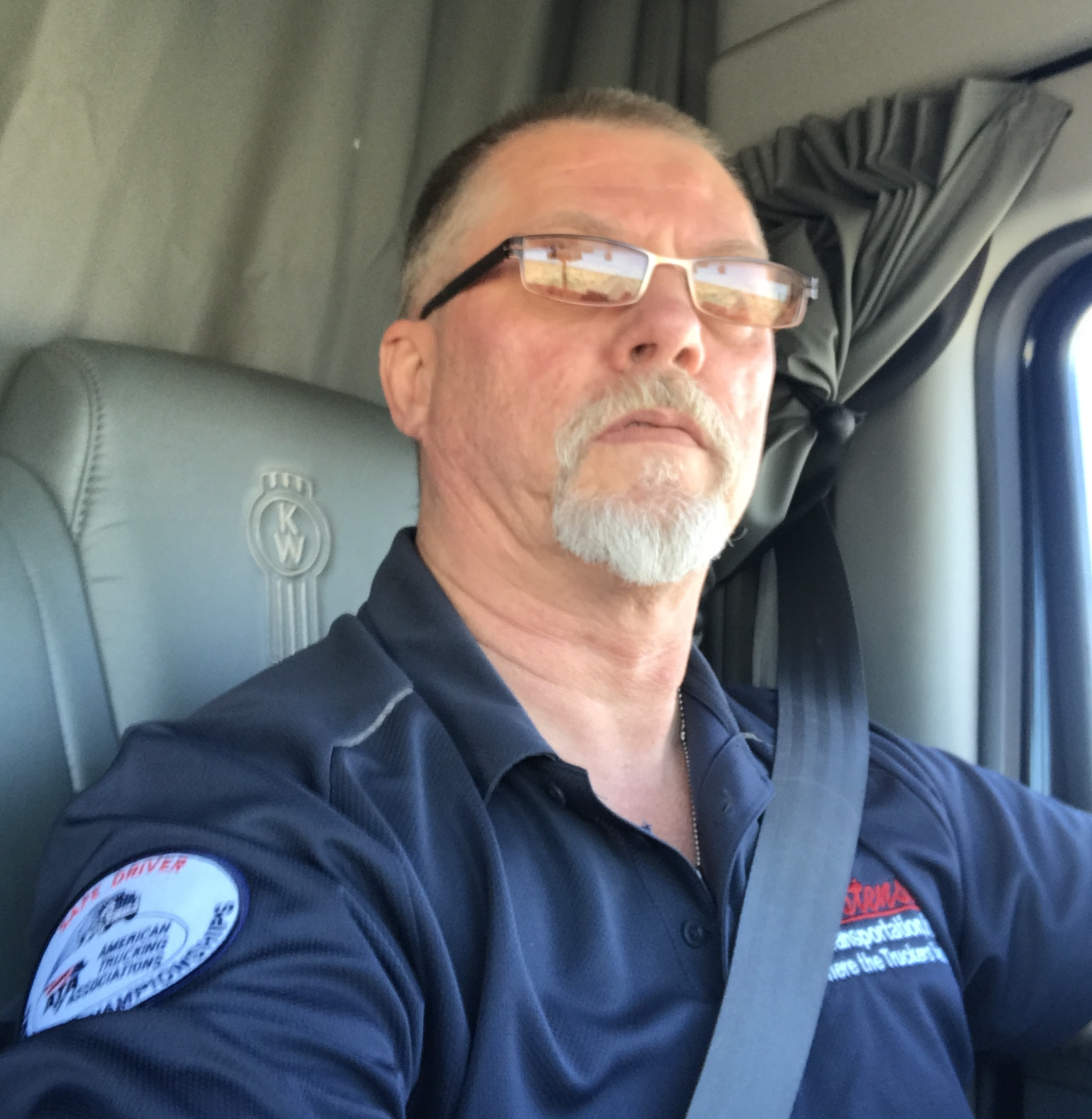 Driver Spotlight Clifford in his truck