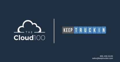 KeepTruckin Named One of Forbes Cloud 100 Companies