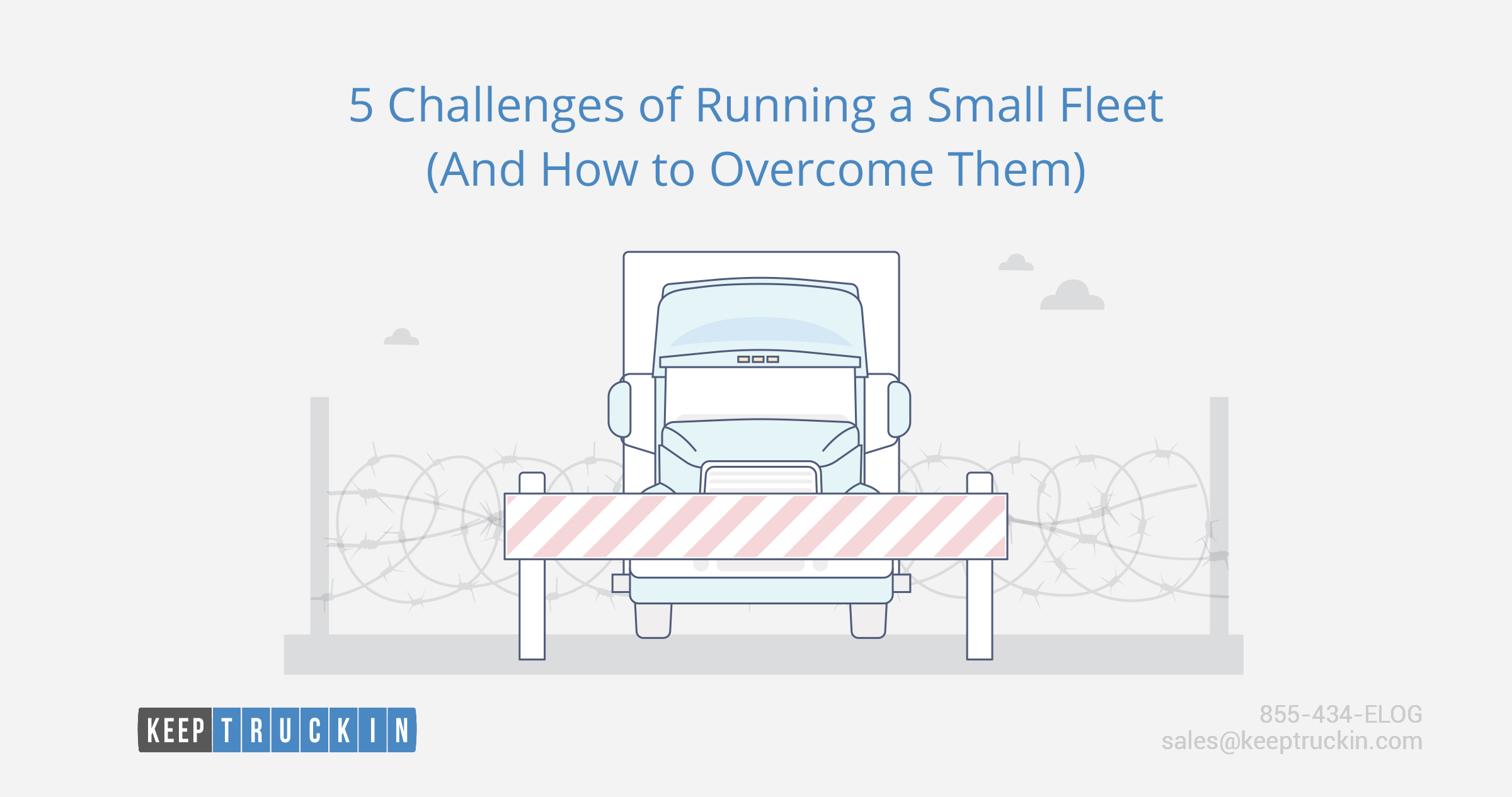 5 Challenges of Running a Small Fleet (And How to Overcome Them)