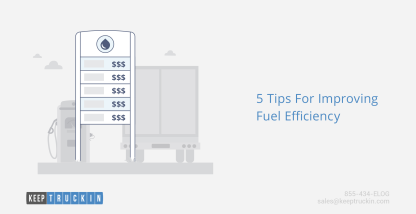 5 Tips For Improving Fuel Efficiency