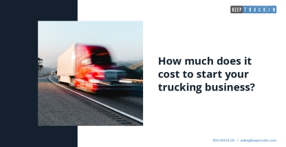 How much does it cost to start your trucking business?