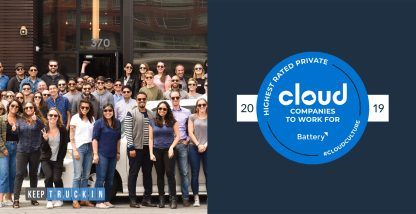 KeepTruckin Named One of Battery Ventures Highest-Rated Cloud Companies to Work For