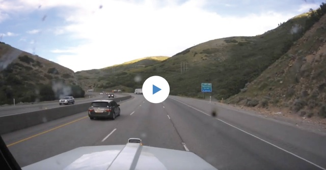 Collision footage recorded by the KeepTruckin Smart Dashcam