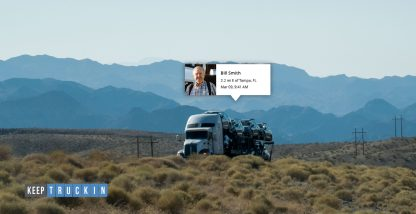 How to use truck tracking to benefit your business