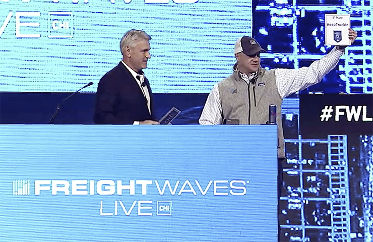Amazon named FreightTech 25 champion two years running
