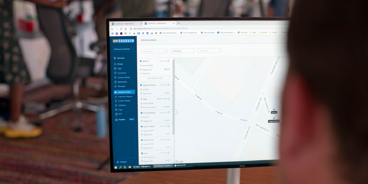 How fleet management technology sets your business up for success