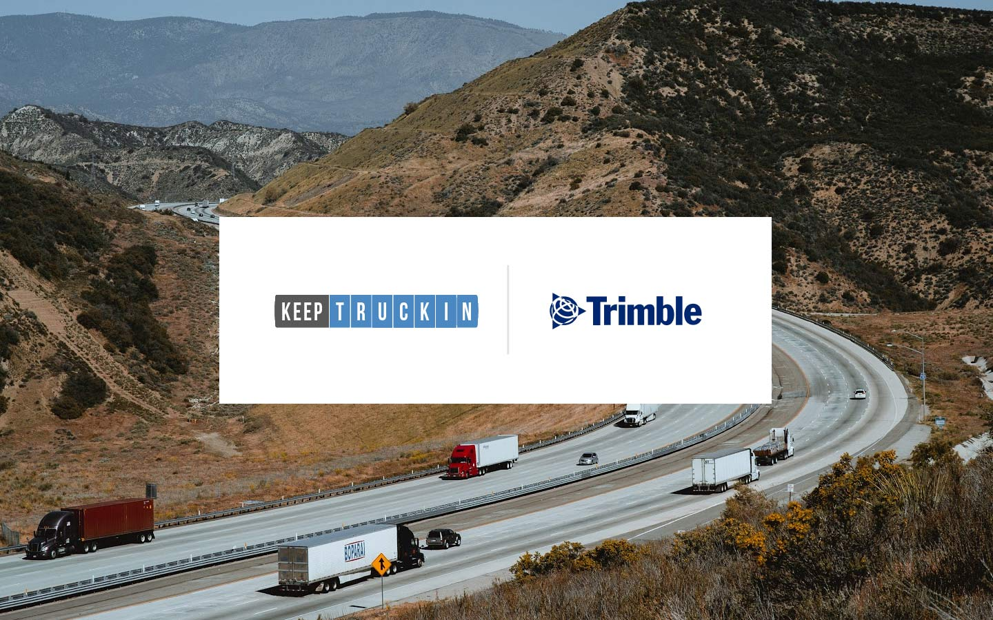 Introducing KeepTruckin integrations with Trimble: Innovative, TMT, and Vusion platforms