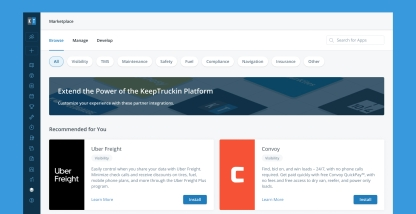 Better Control of Your Data: Announcing KeepTruckin's App Marketplace 2.0