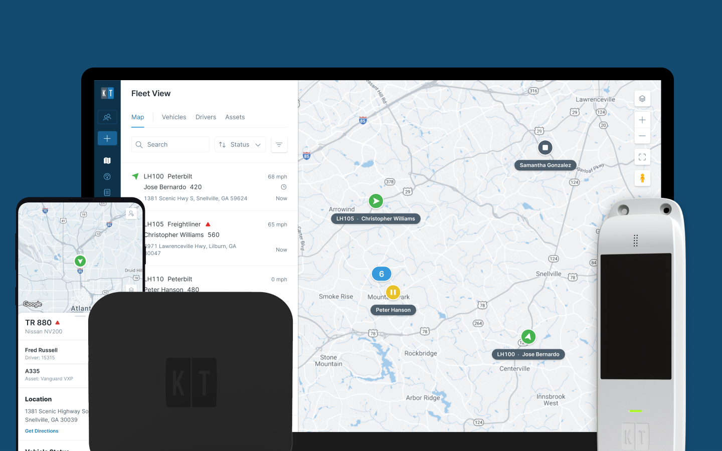 Unlock command-center visibility: introducing next-generation GPS tracking