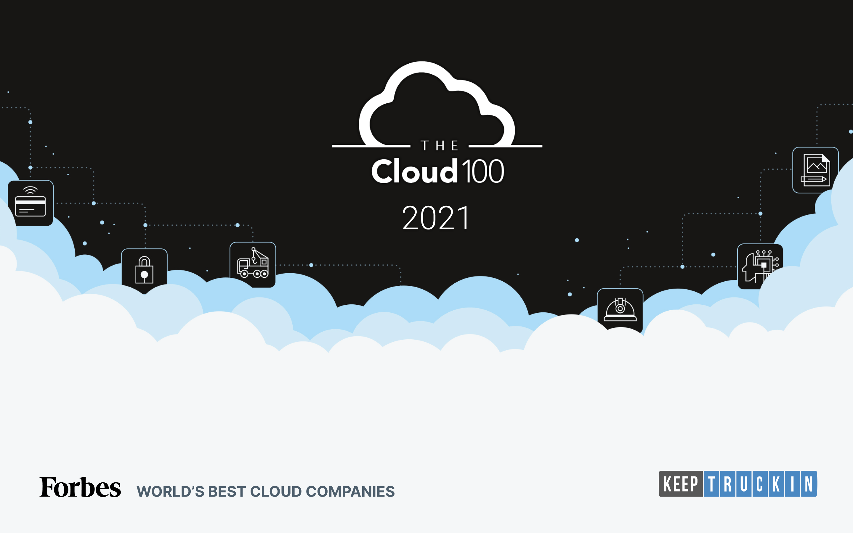 KeepTruckin named a Forbes 'Cloud 100' company for fourth year running