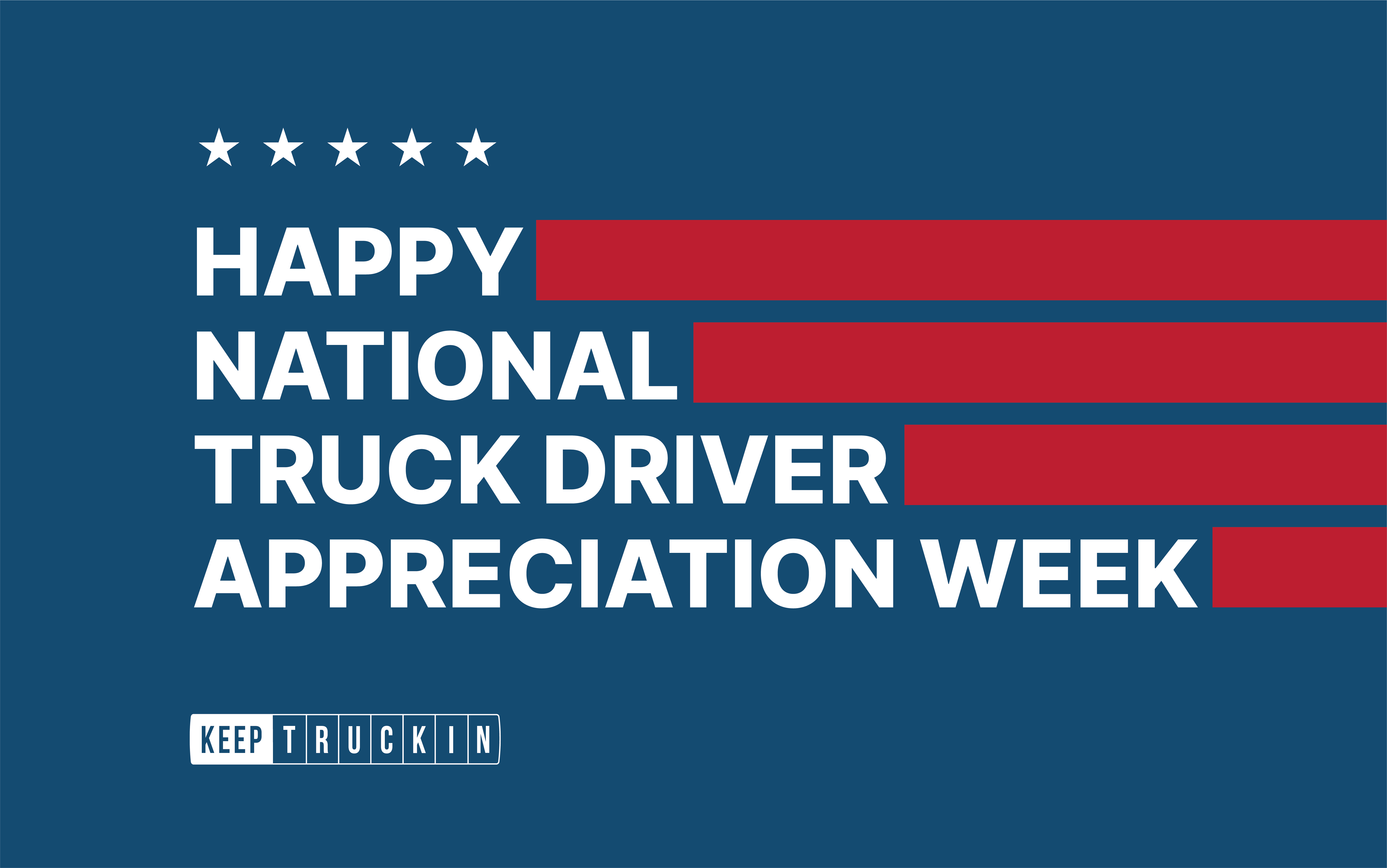 National Truck Driver Appreciation Week shows the value of employee recognition