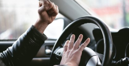 How to curb aggressive driving in commercial vehicles